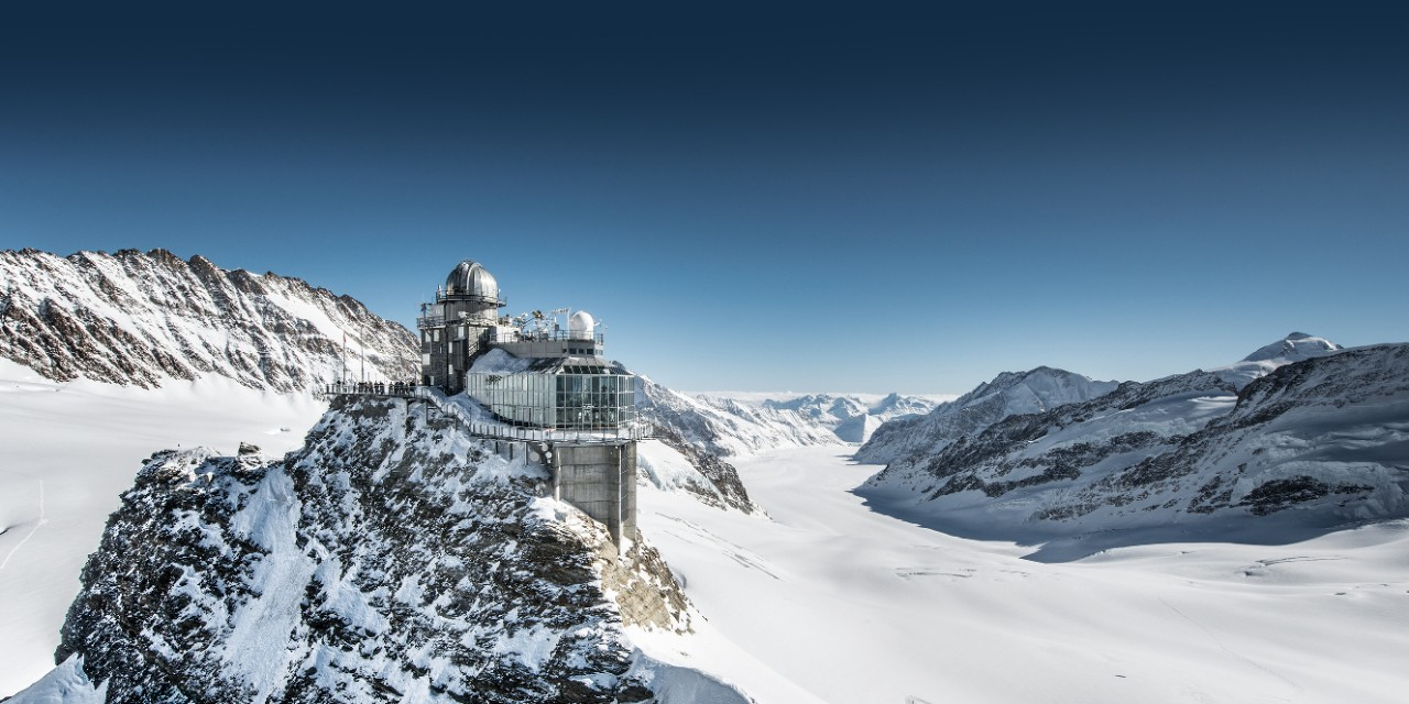 To the Jungfraujoch with SBB.