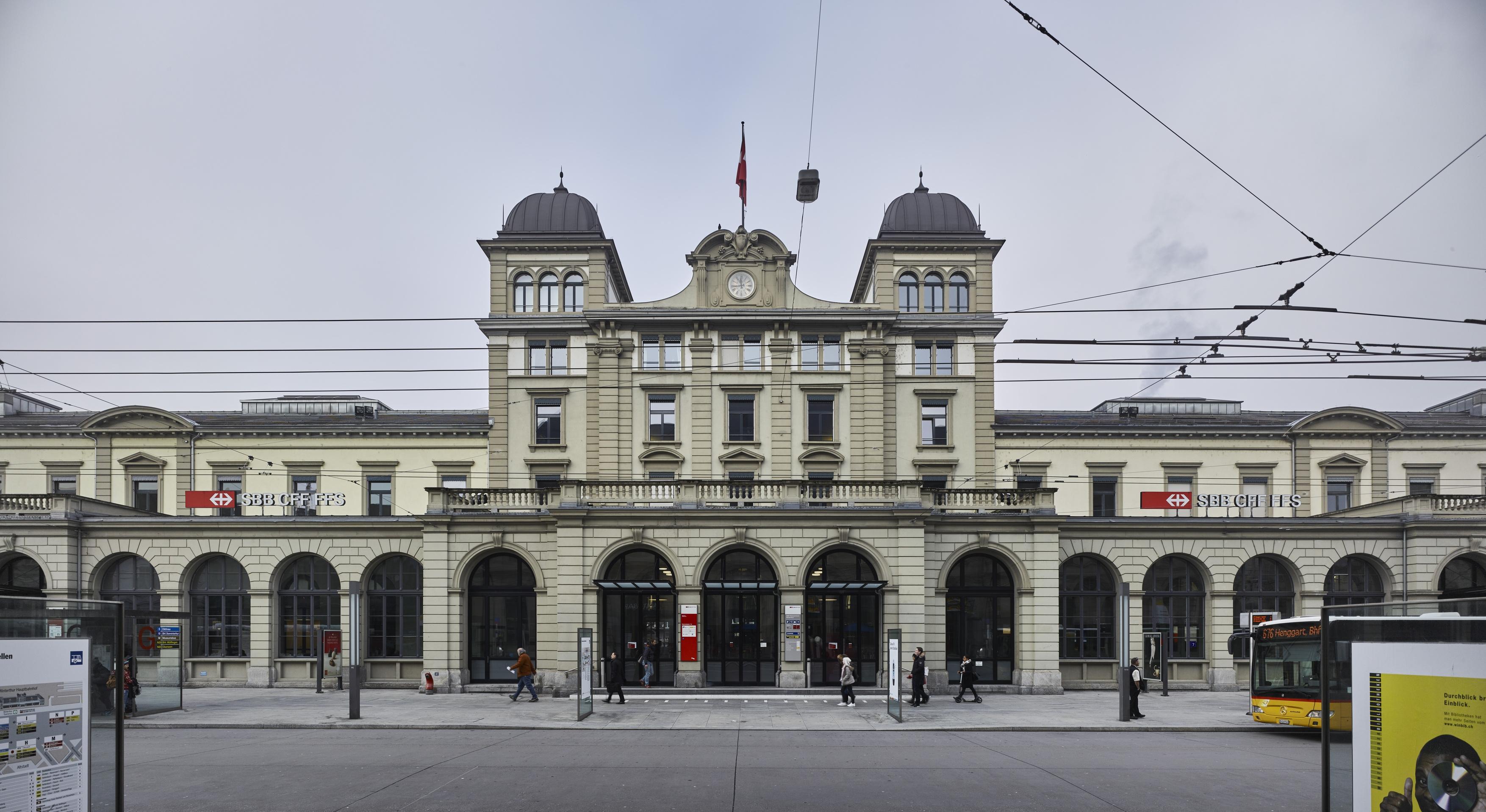 Bahnhof Winterthur – Shopping und mehr | SBB