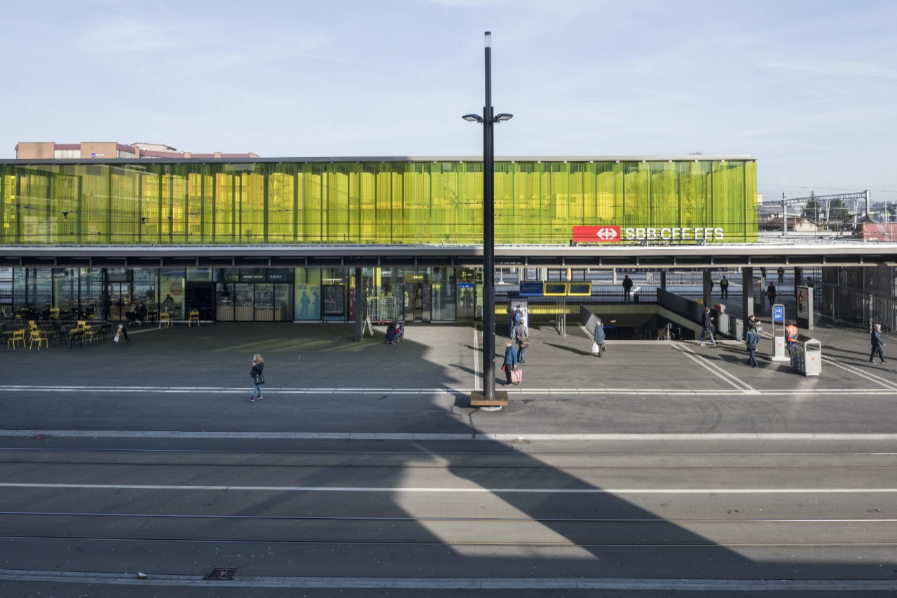 Zurich Oerlikon Station Shopping And More Sbb