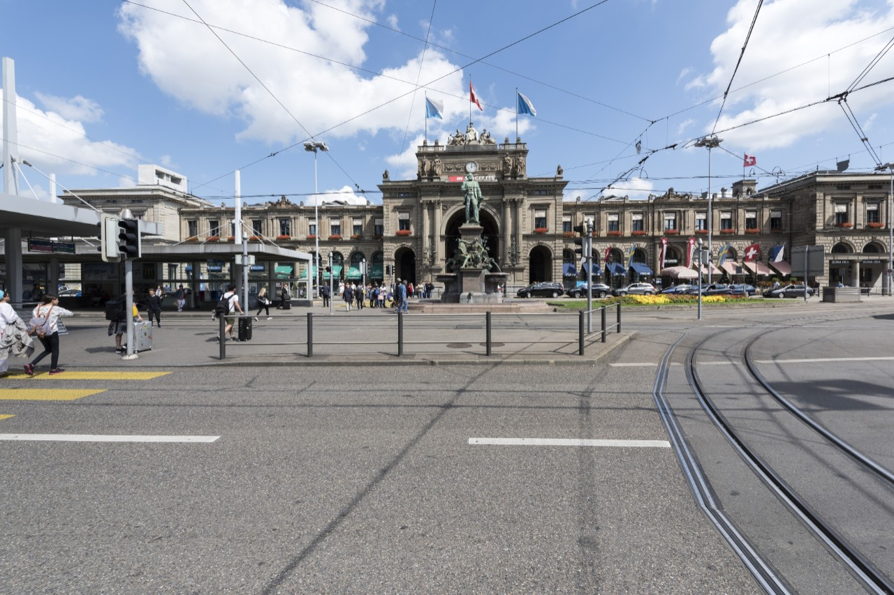 Estação Zürich Hauptbahnhof