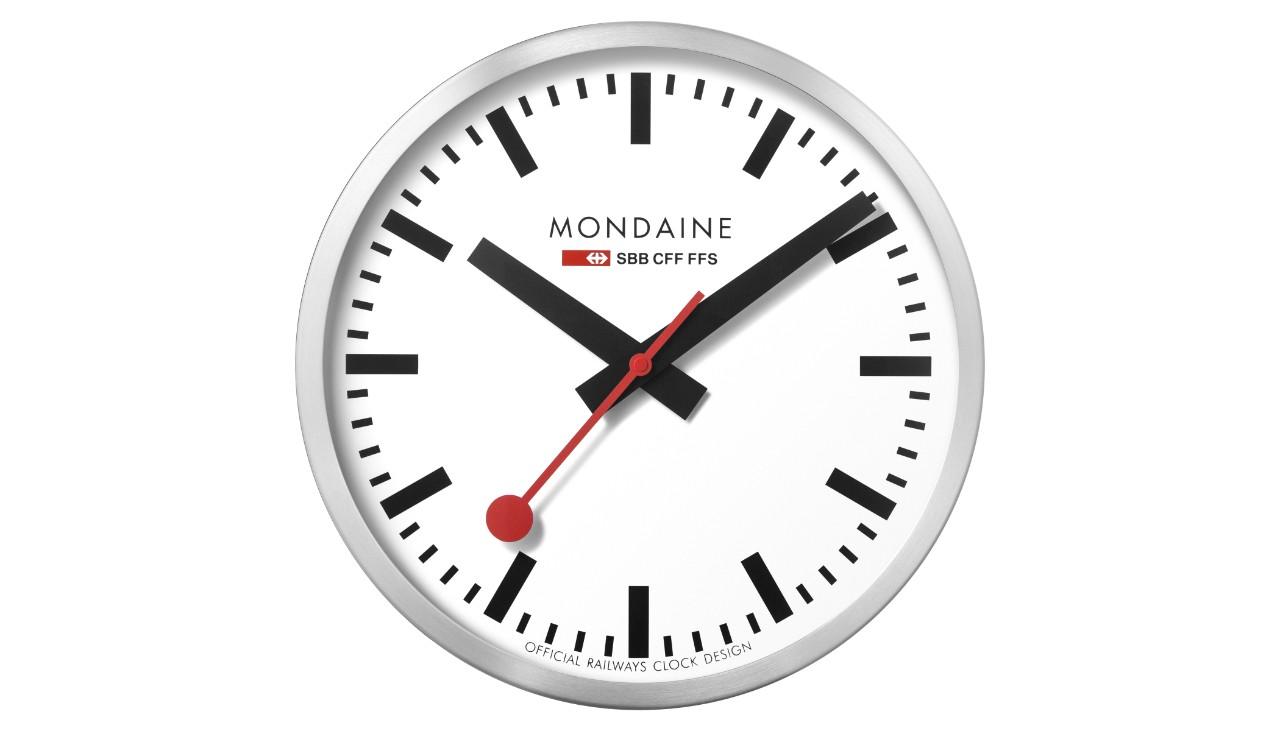 Die Sbb Bahnhofsuhr Von Mondaine Sbb