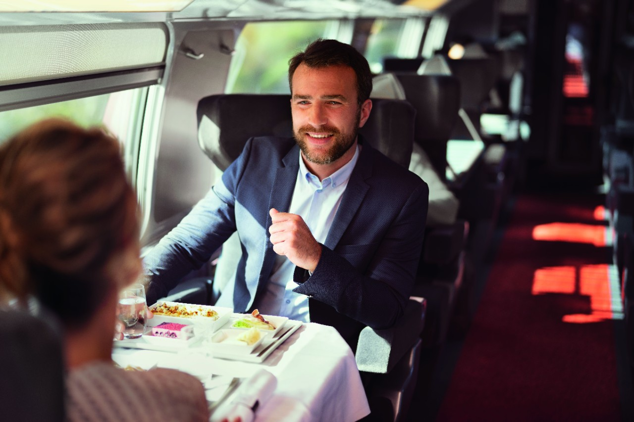 Travel in BUSINESS 1ère, TGV Lyria's new exclusive class.