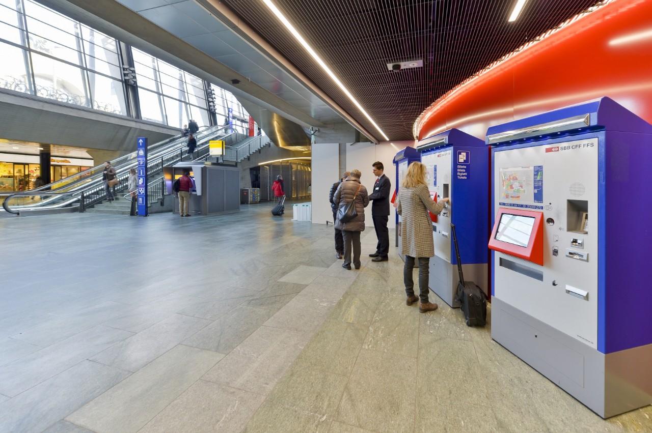 SBB's ticket machines | SBB