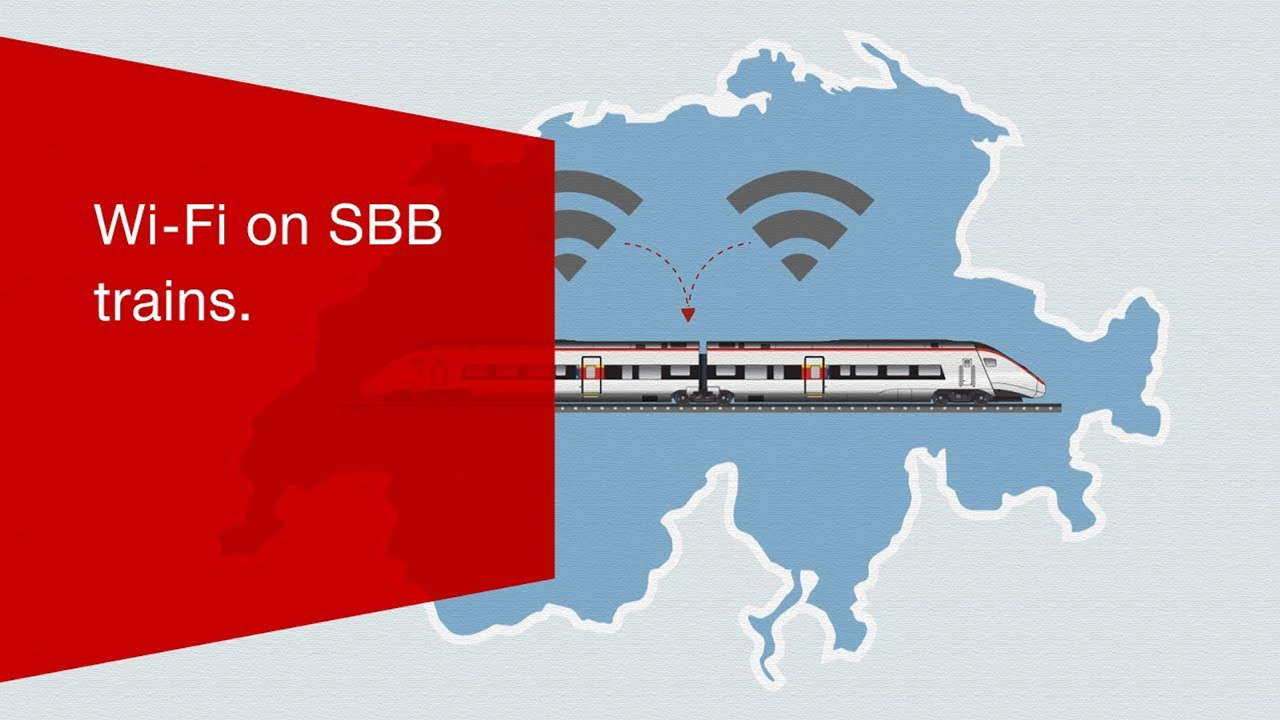 Wi-Fi on SBB trains.