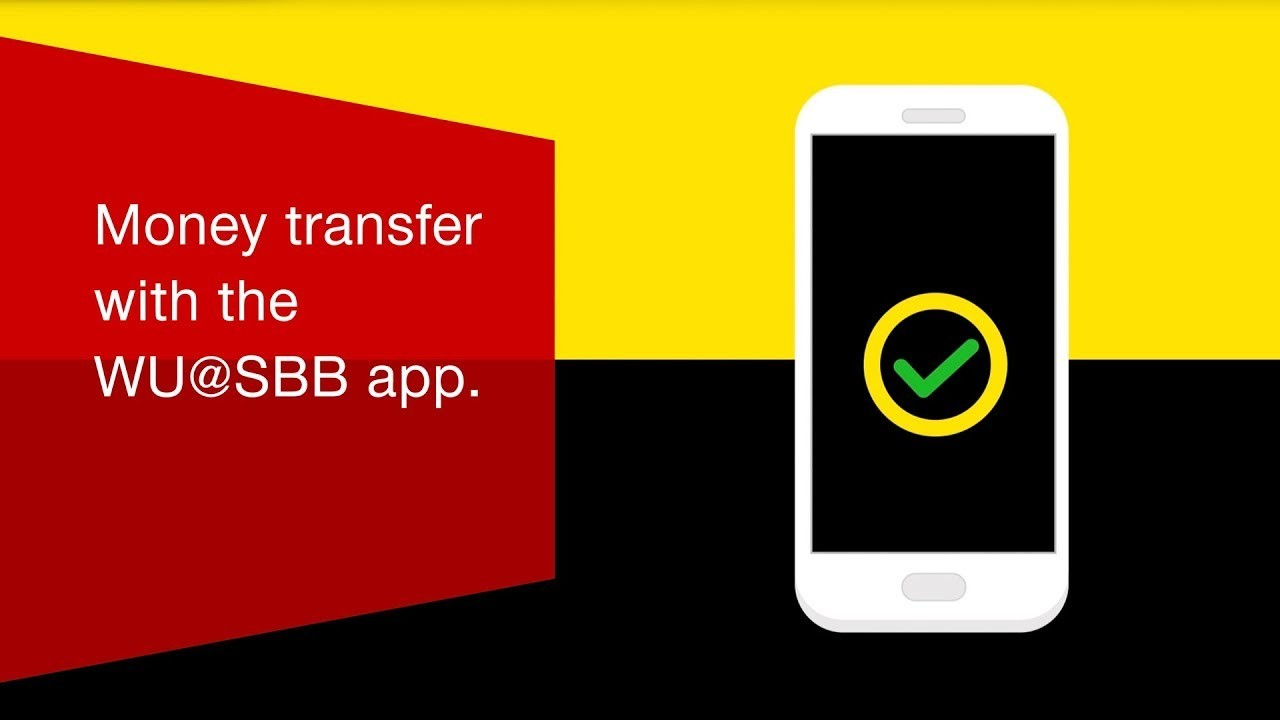 Western Union video tutorial: Money transfer with the WU@SBB app.